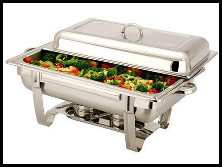 Chafing Dish 12″ x 20″ w/Sternos