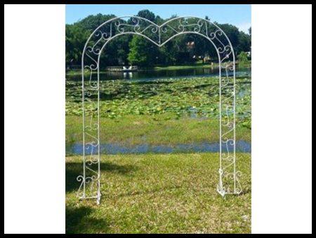 Heart Shape Arch (Silver)
