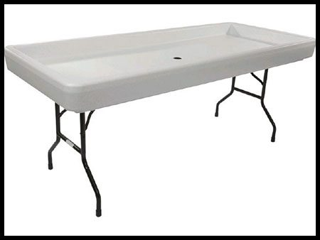 Chill'n table (Keeps food and drinks cold)