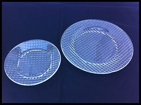 Glass Salad Plates