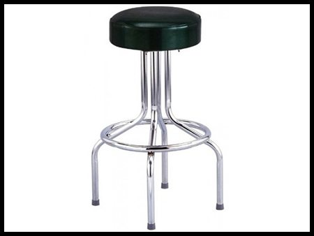 Bar Stools Black (No Back)