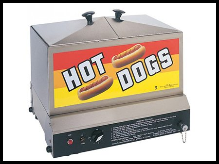 Hot Dog Steamer (Holds 75 Hot Dogs & 36 Buns)